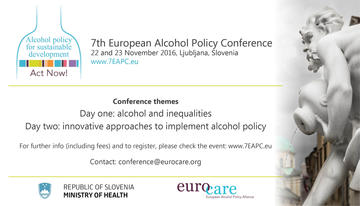 7th European Alcohol Policy Conference
