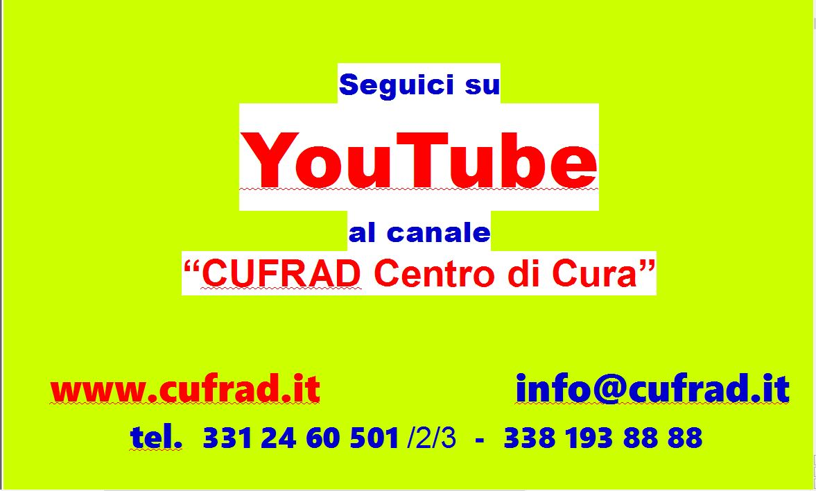 SEGUICI su YouTube e su Facebook!